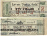 Lavaca County $2.00 (two dollars) county scrip
