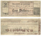 Limestone County $2.00 (two dollars) county scrip