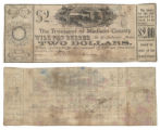Madison County $2.00 (two dollars) county scrip