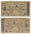 Marion County 20 cents (twenty cents) county scrip