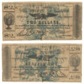 Marion County $2.00 (two dollars) county scrip