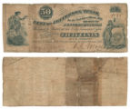 City of Jefferson 50 cents (fifty cents) municipal scrip