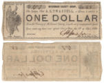 McLennan County $1.00 (one dollar) county scrip