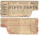 McLennan County 50 cents (fifty cents) county scrip