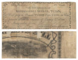Nacogdoches County 25 cents (twenty-five cents) county scrip