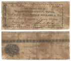 Nacogdoches County $3.00 (three dollars) county scrip