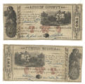 Austin County $2.00 (two dollars) county scrip