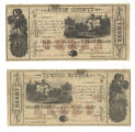 Austin County $3.00 (three dollars) county scrip