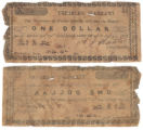 Parker County $1.00 (one dollar) treasury warrant