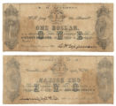 B. H. Epperson $1.00 (one dollar) private scrip