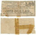 Comanche County $1.00 (one dollar) county scrip