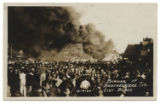 Burning of Breckenridge, Tex. City Block, 12-4-20