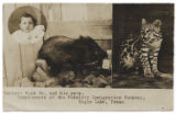 Herbert Hurd Jr. and his pets.