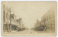 Bridge St., Looking South, Henrietta, Tex.