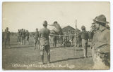Athletic day at Camp MacArthur, Waco, Texas.