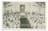 Church Services, Camp Swift, Texas
