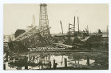 Looking Across the Rio Brava Lease After the Storm, Sept. 10th, 1926, Spindletop