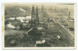 [Bird's Eye View of Oil Field, Burkburnett, Texas]
