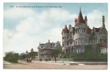 An East Broadway and Residence View, Galveston, Tex.