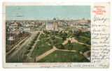 General View Looking West from Court House, Galveston, Texas