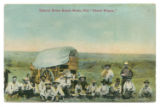 Typical Texas Ranch Scene, The ''Chuck Wagon.''