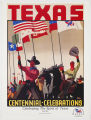 [Texas Centennial Celebrations: Cowboys Bearing Six Flags of Texas]