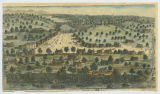 City of Austin, the new capital of Texas in January 1, 1840