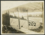 Commanding Officer, Camp Bowie Patronizes ''Flyin' Frolic''. Nov. 12-13, 1918. Love Field. Tex.