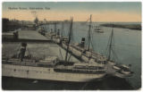 Harbor Scene, Galveston, Tex.