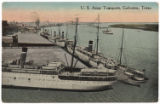 U. S. Army Transports, Galveston, Texas.