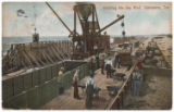Building the Sea Wall, Galveston, Tex.