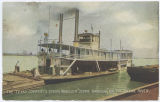 The Texas Company's Stern Wheeler ''Jennie Barbour'' on the Sabine River.