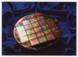 [Six-Inch Semiconductor Wafer with Digital Micromirror Device Microchips]
