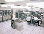 [TIAC 827 computers for digital seismic data processing at the Lemmon Ave. facility in Dallas]