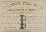 Pittsburgh Steel Works, Anderson & Woods