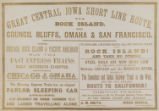 Great Central Iowa Short Line Route
