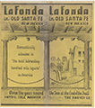 La Fonda in Old Santa Fe, New Mexico