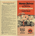 Motor drives out from the Alvarado, Albuquerque, in connection with the Indian-detours