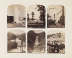 [Yellowstone Stereograph Halves: Set 09]