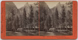 Pohono - The Bridal Veil, 900 Feet, Yosemite Valley, Mariposa Co.